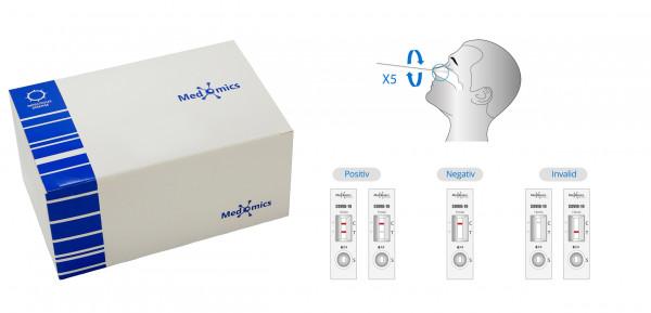 Medomics SARS CoV-2 Antigen-Testkit